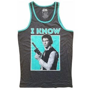 "Star Wars ""I Know"" Tank Han Solo"